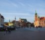Замковая площадь. Варшава.