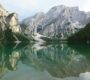 Тироль. Озеро Прагзер Вильдзее. Италия.