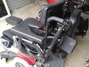 Pair of Quickie Electric Wheelchairs