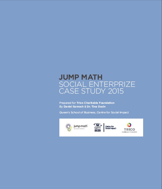 JUMP Math: Social EnterPrize Case Study