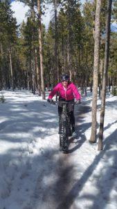 Erin snow bike trail