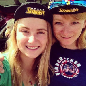 ksenia and mom