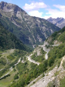 switchbacks from above