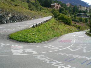 tour markings
