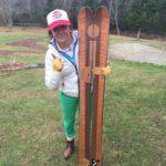 Raffle skis