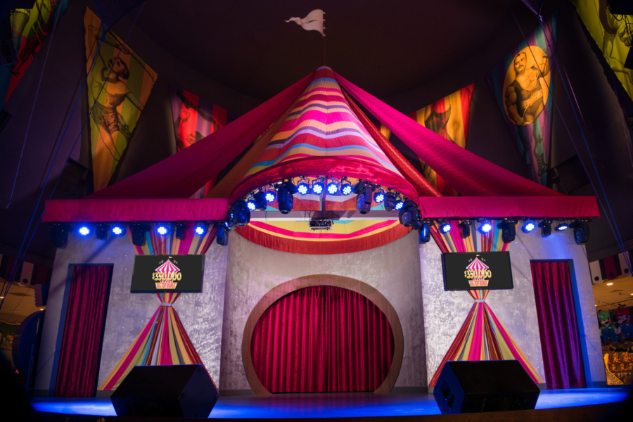 Midway Tent