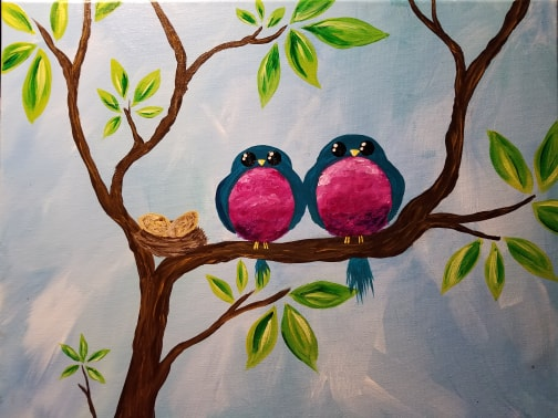 Gaudy Giggles Children's Painting Class