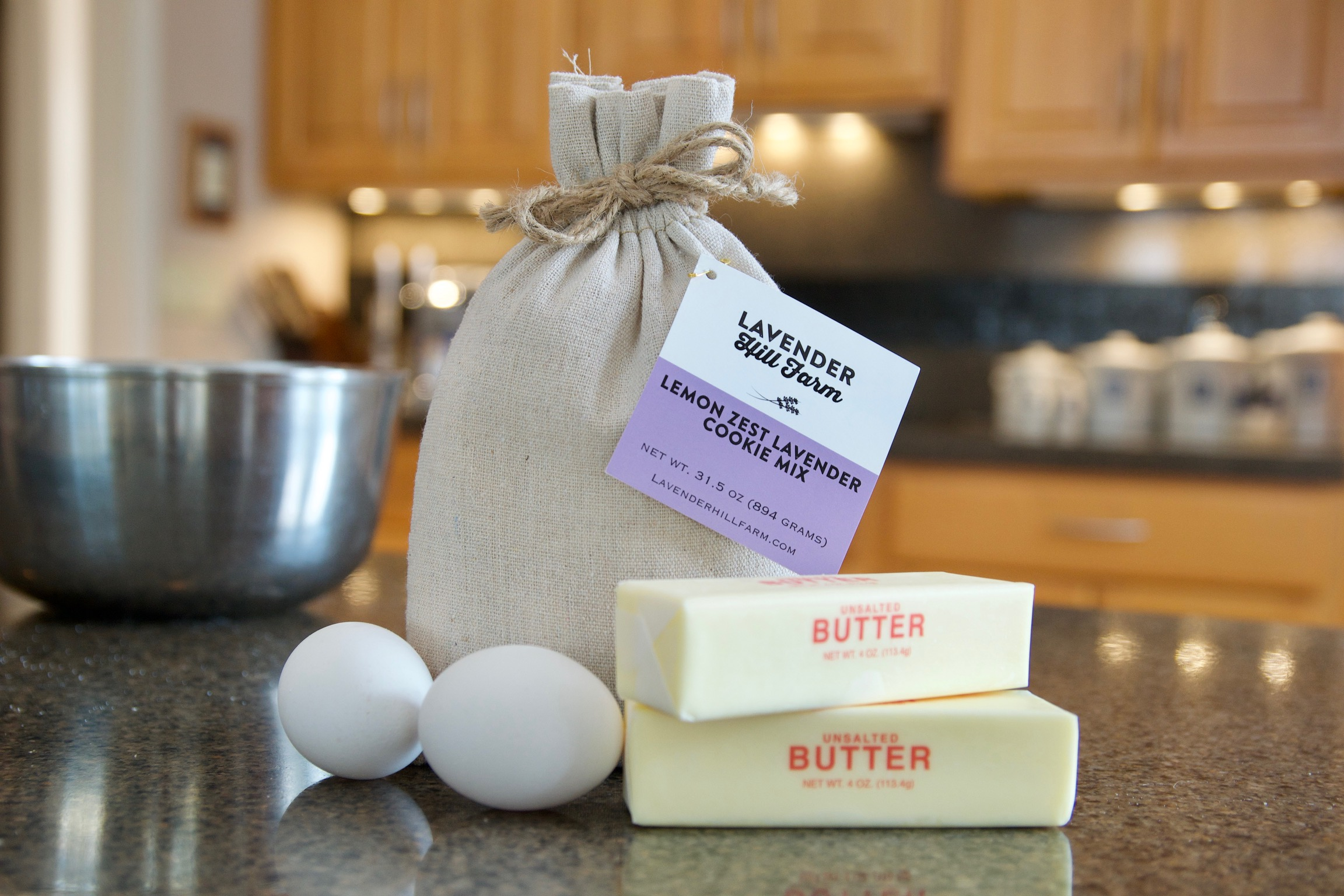 The BEST Lavender Cookie Mix