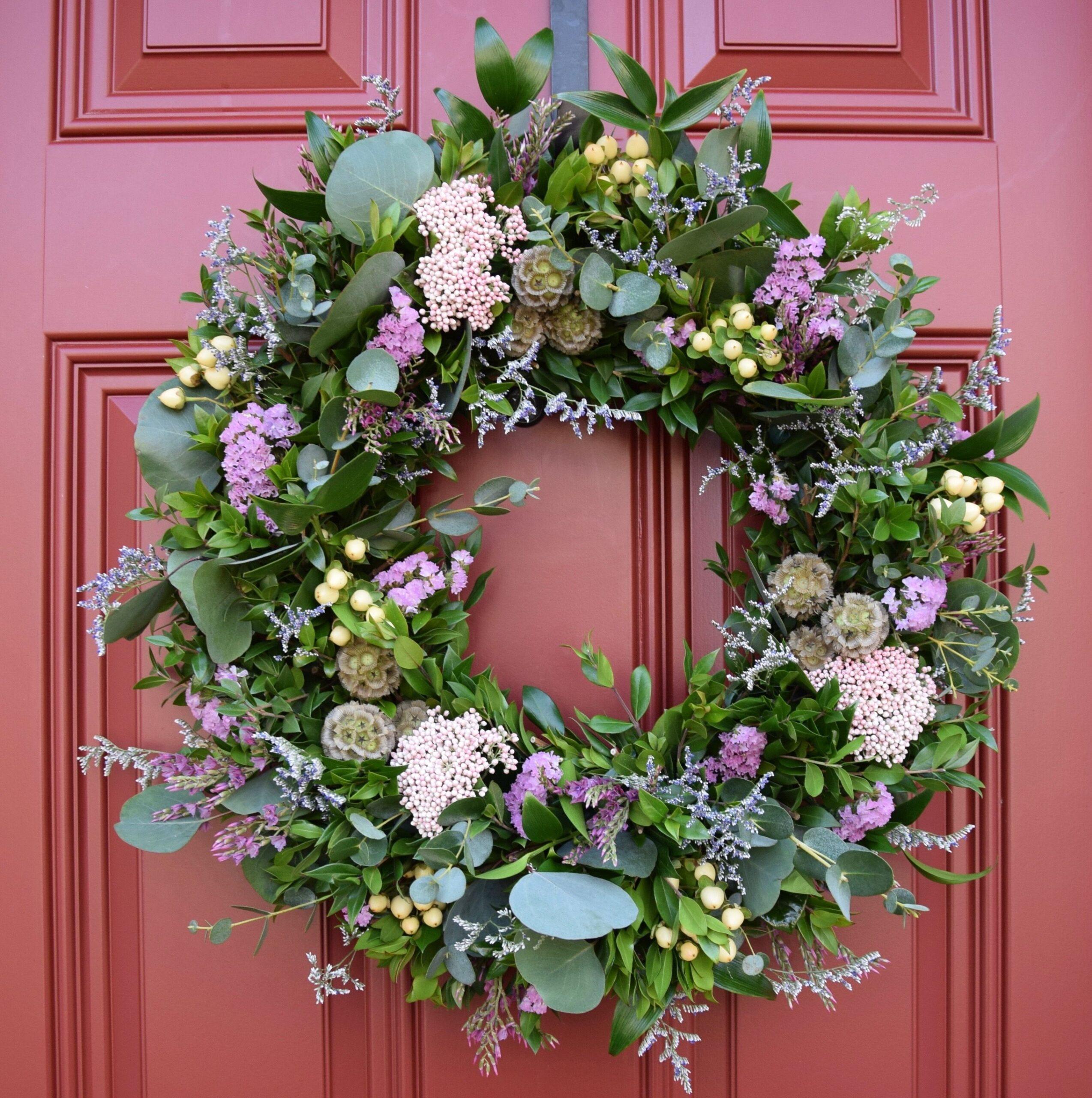 Eucalyptus & Fresh Floral Wreath Workshop