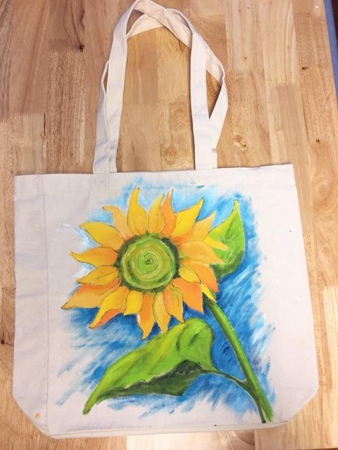 Canvas Tote Painting Workshop
