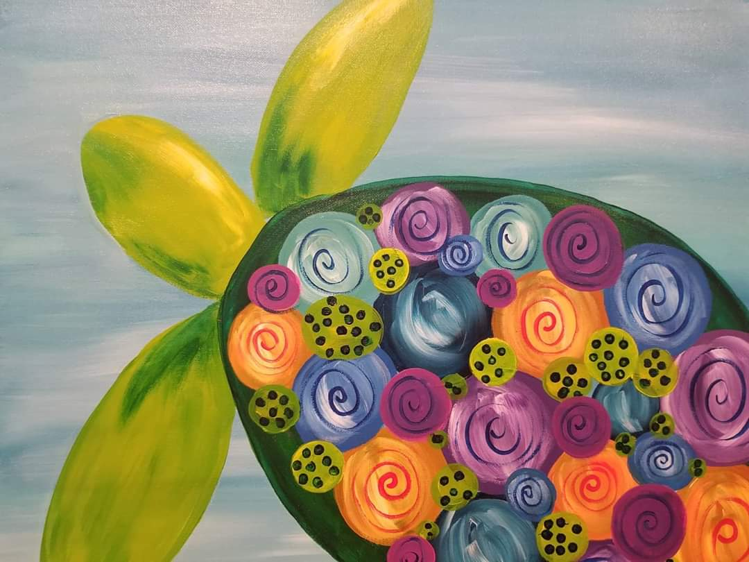 Gaudy Giggles Family Paint Night