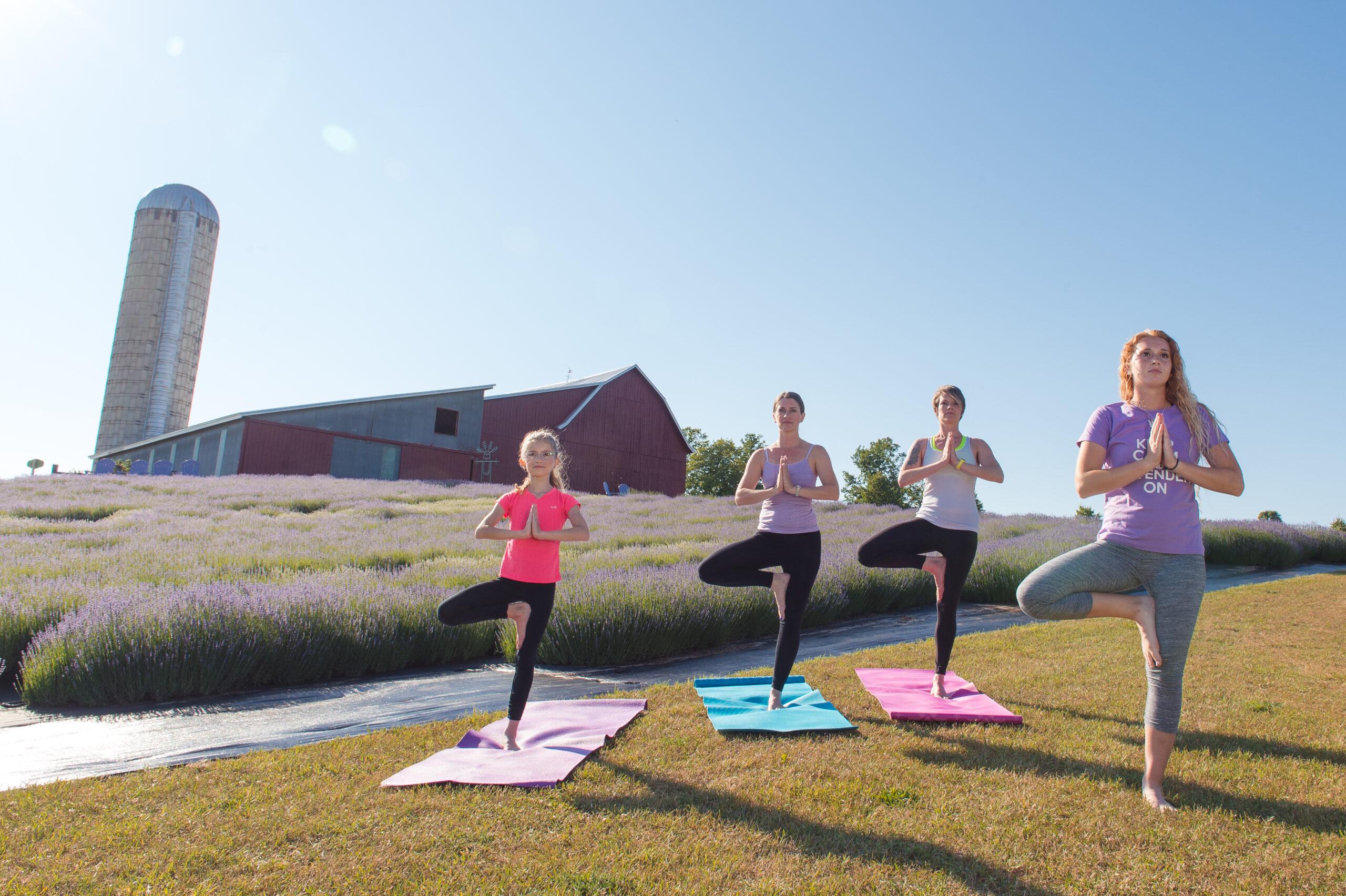 Yoga in Bloom – Morning