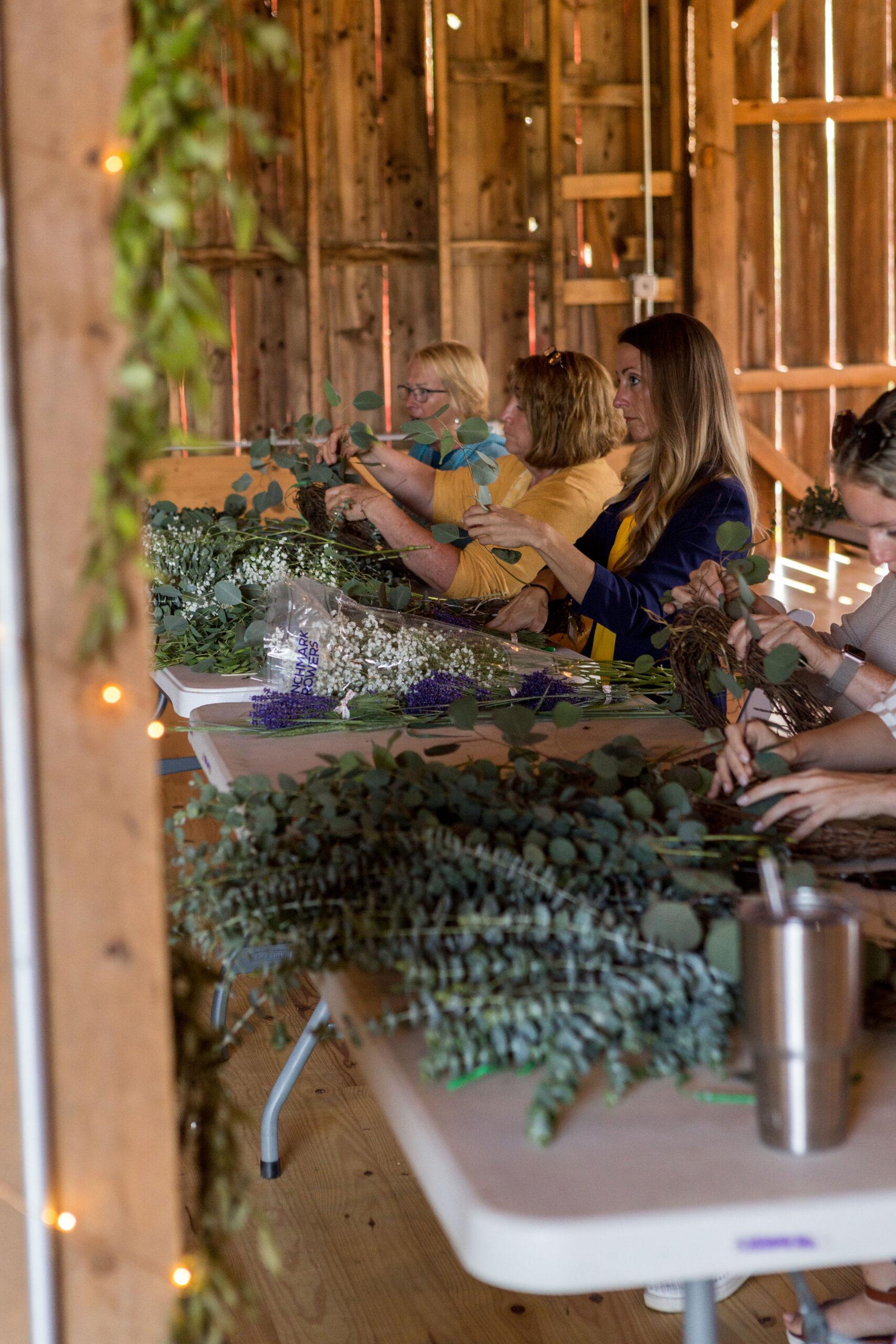Eucalyptus & Fresh Lavender Wreath Workshop