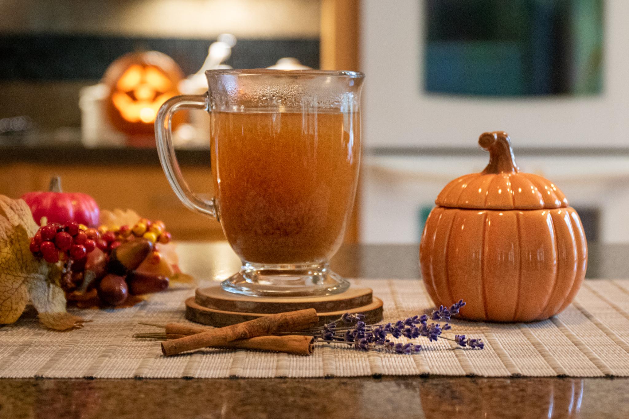 Lavender-Spice Mulled Cider