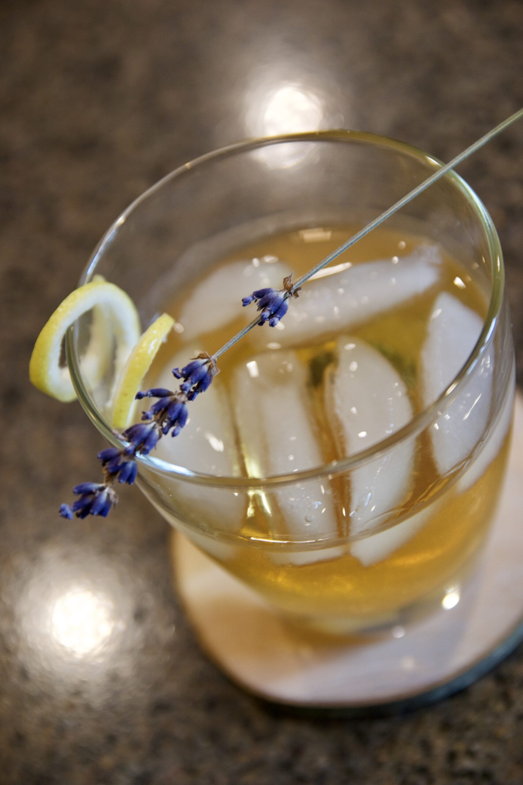 Lavender Old Fashioned