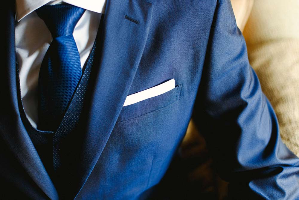 man's garment care and cleaning