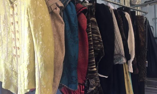 show costume cleaning