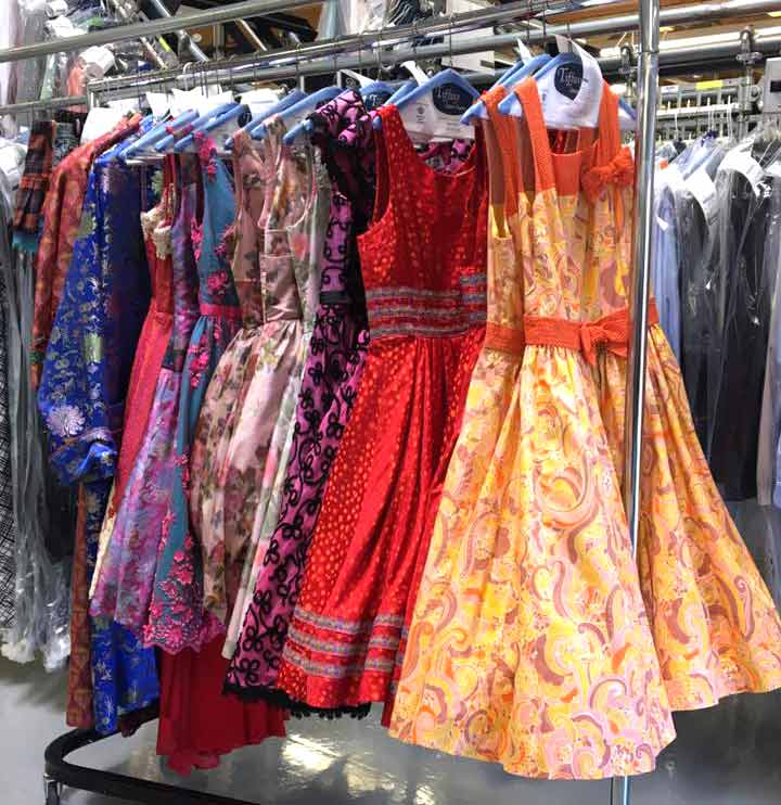 Las Vegas Shows Costumes Cleaning