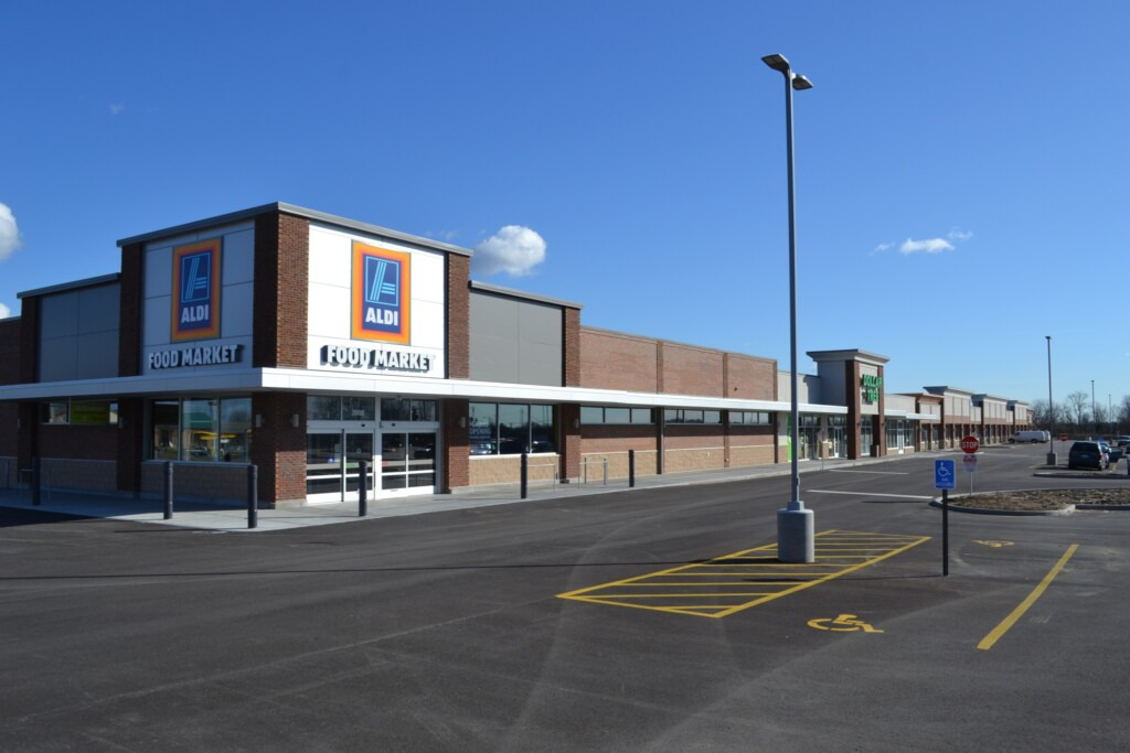 Independence Square Aldi View
