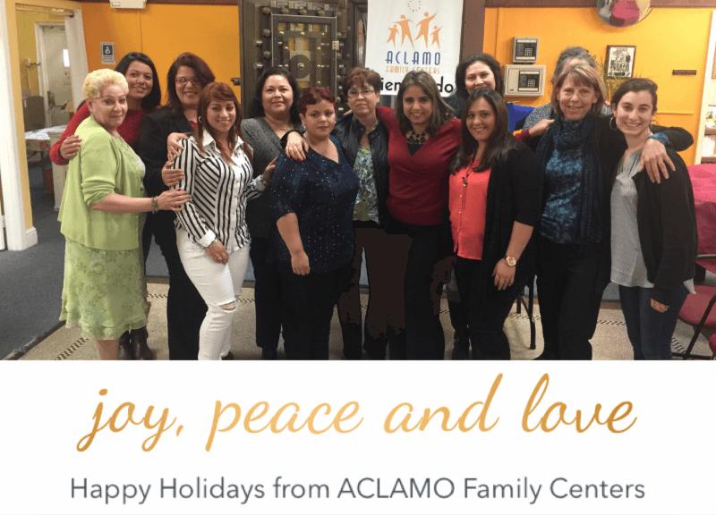 Joy, Peace and Love – Happy Holidays from ACLAMO Family Centers