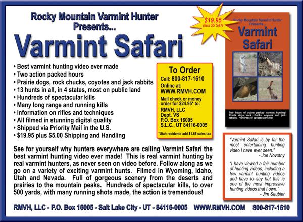 First Varmint Safari ad