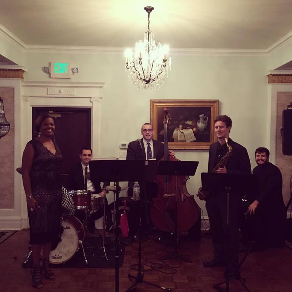 Louis Pettinelli Band at Formal Event