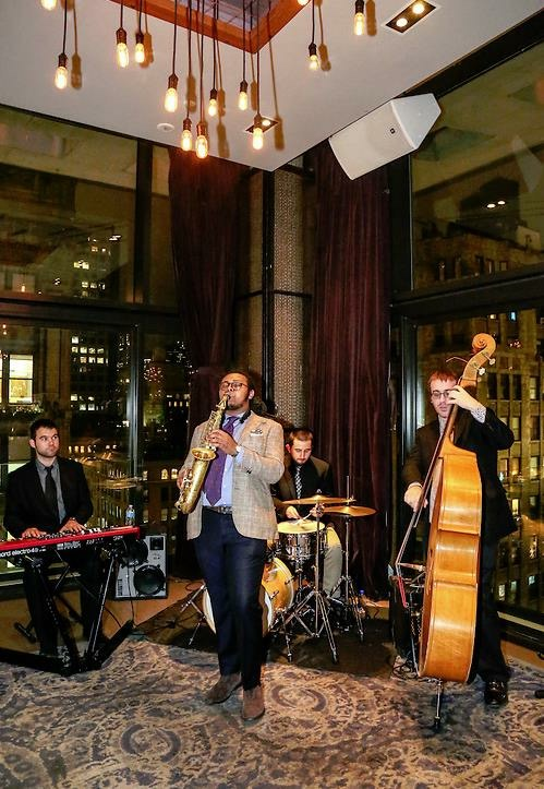 Louis Pettinelli Jazz Band at Formal Event