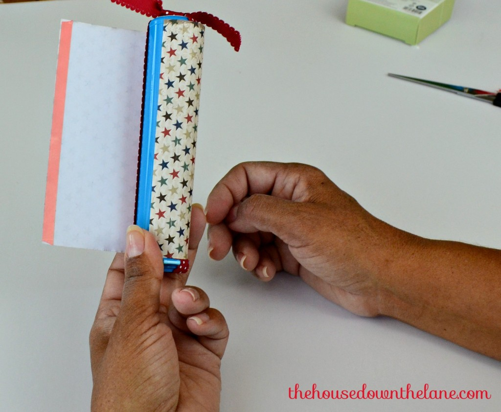 Light Up Your Patriotic Decor with Easy, DIY Firecrackers. From thehousedownthelane.com!