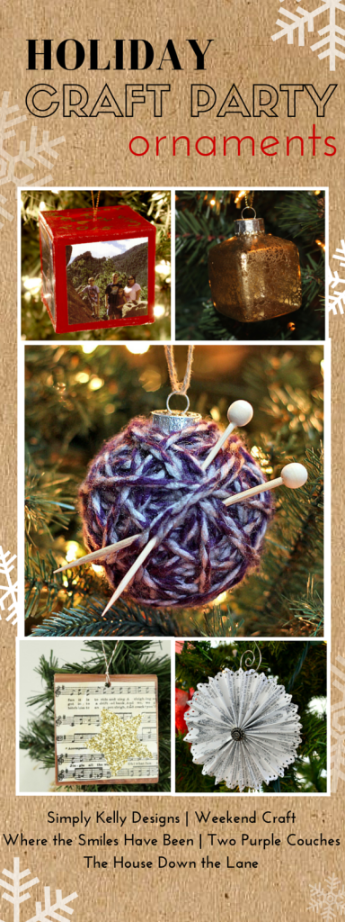 25 Christmas Crafts: Holiday Craft Party Wrap Up | The House Down the Lane