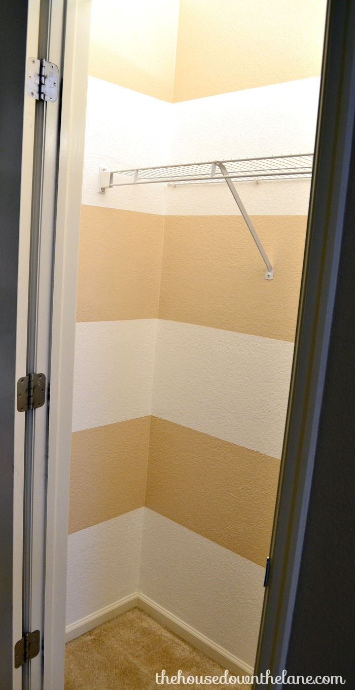 Hall Closet Makeover: Paint & Organize   The House Down the Lane