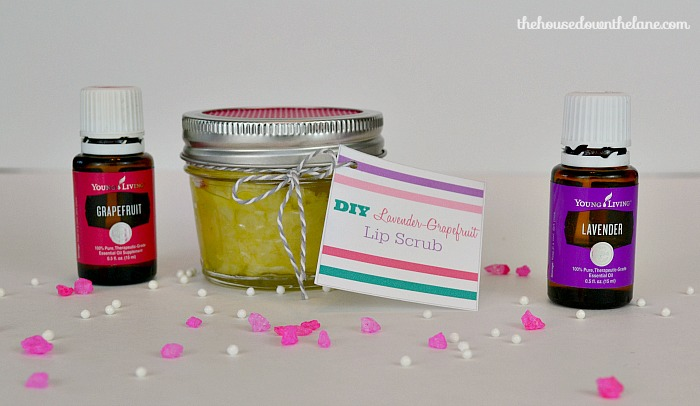 This DIY Lavender-Grapefruit Lip Scrub is easy to make, and you probably have most of the ingredients at home right now! It makes a great last-minute gift...that is if you don't decide to keep it for yourself!   The House Down the Lane