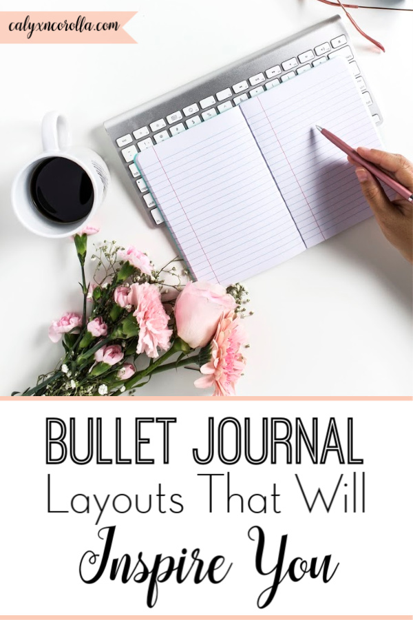 Favorite Bullet Journal Layouts That Will Inspire You | Calyx and Corolla