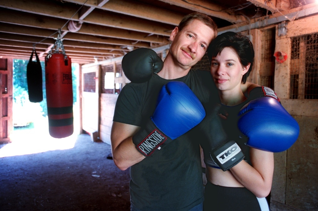 Boxers Shane & Donna Campbell