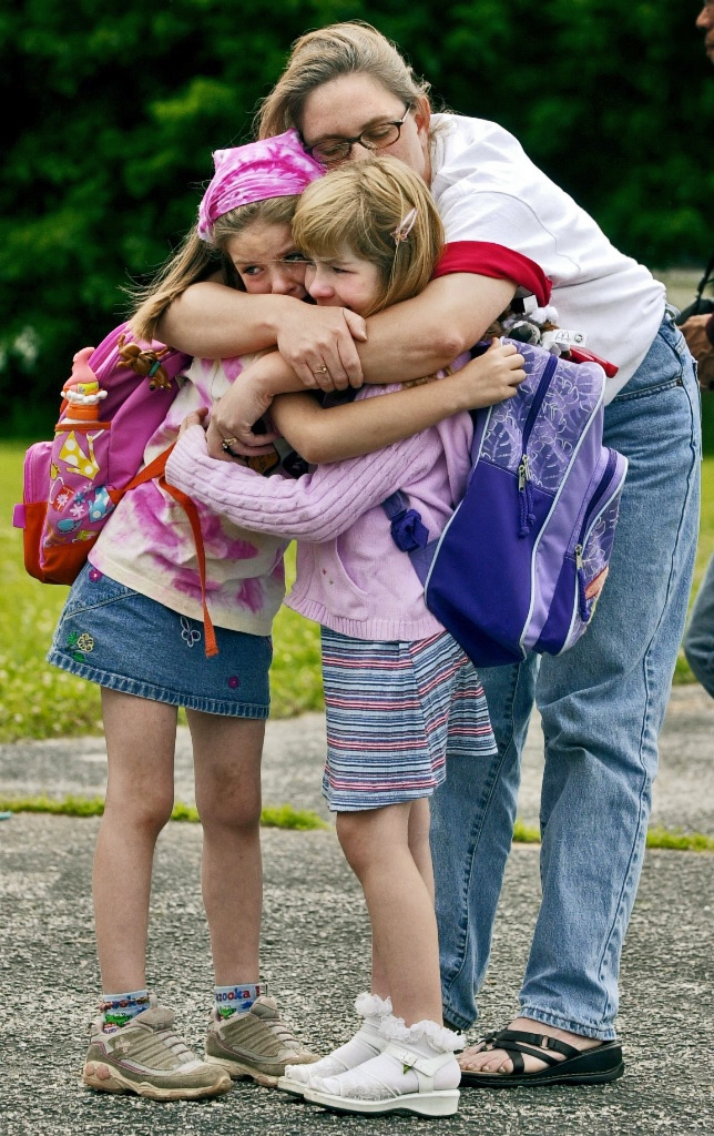 Emotional farewell as a school closes for its final day