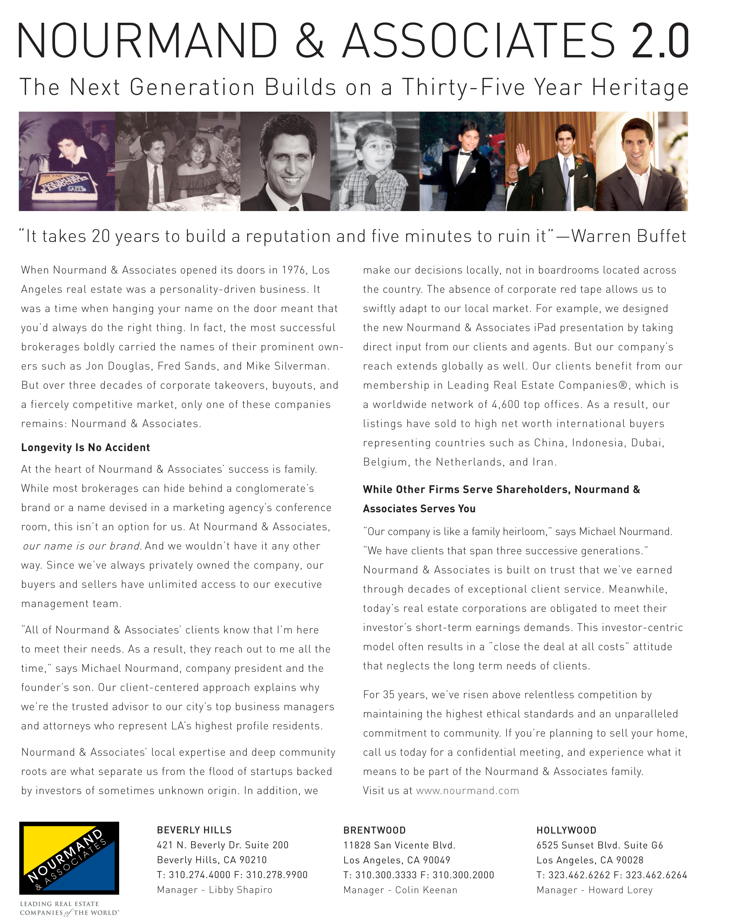 Read more about the article LA Premiere Boutique Brokerage Highlights its History