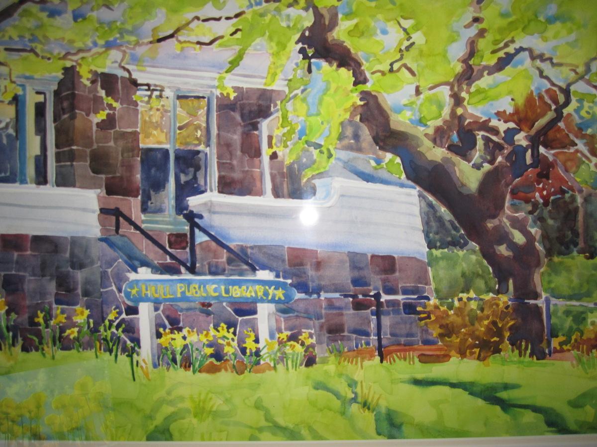 Hull Library Watercolor