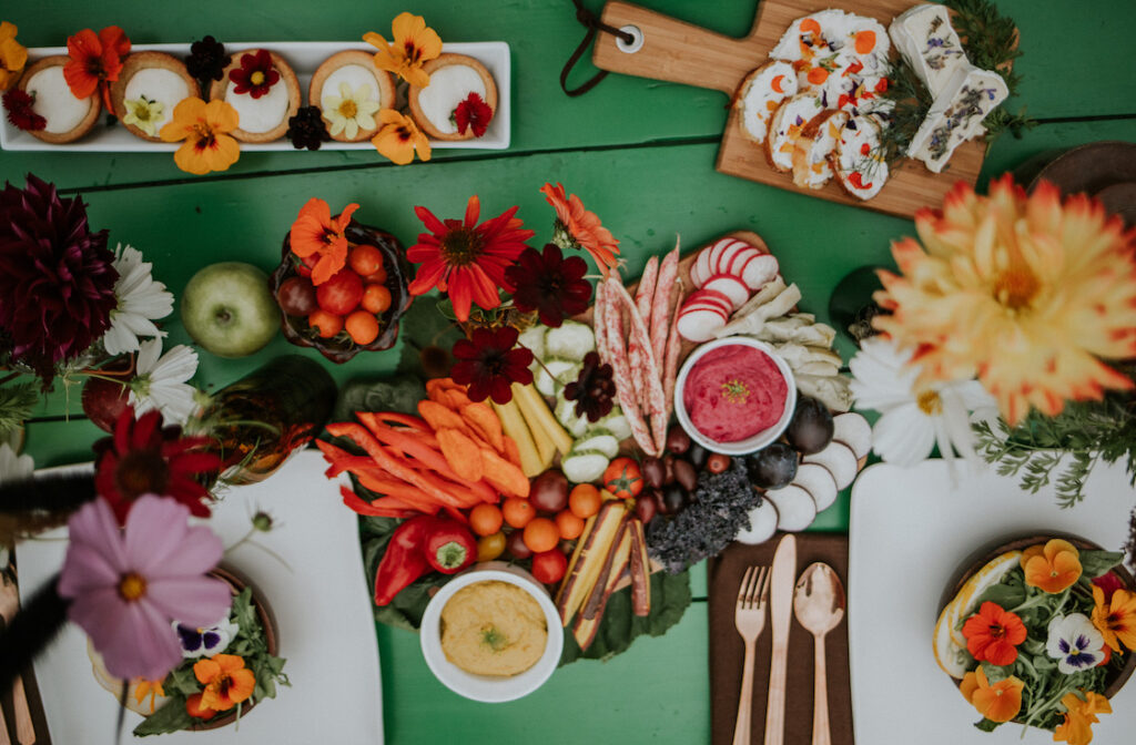 Cannon Beach Catering Farm To Table Spread
