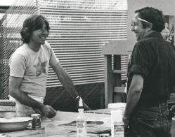 Jim Webb and Robert Raushenberg