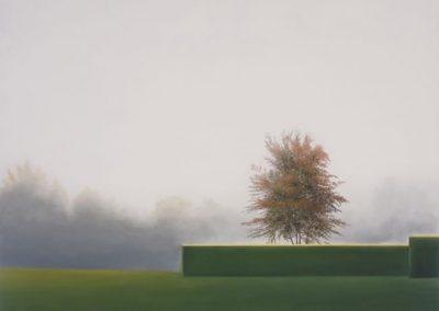 "Silence by Astrid Preston, 2002 oil on canvas, 28"" x 35"""