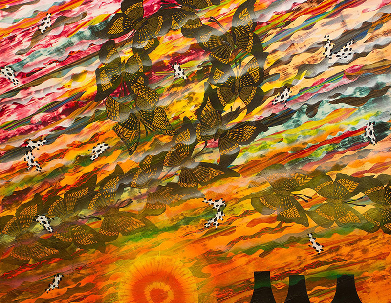 "Merion Estes ""Los Alamos Sunset"""