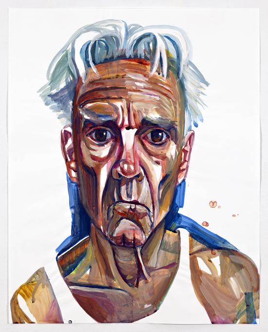 Don Bachardy self portrait
