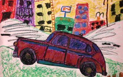 Gallery Cruisin' Cars inspired by Frank Romero