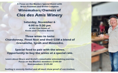 Wine Tasting Event with Clos des Amis Winery