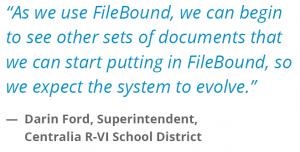 FileBound Testimonial Education