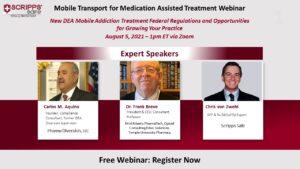 Scripps Safe presents: Mobile Transport for Medication Assisted Treatment Webinar