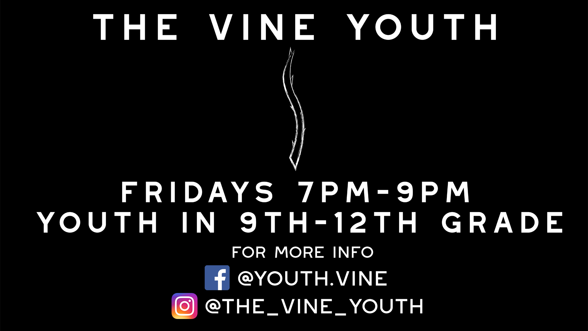 The Vine Youth Ministry