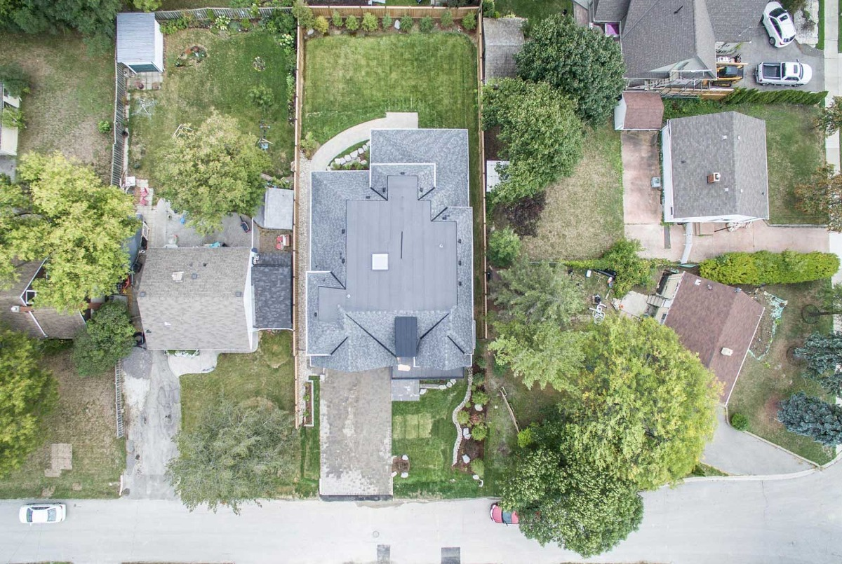 drone photography captured by mississauga videographer films first
