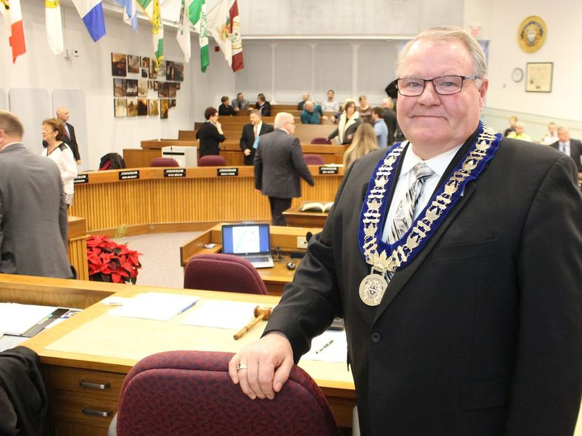 Lambton Shores Mayor Bill Weber