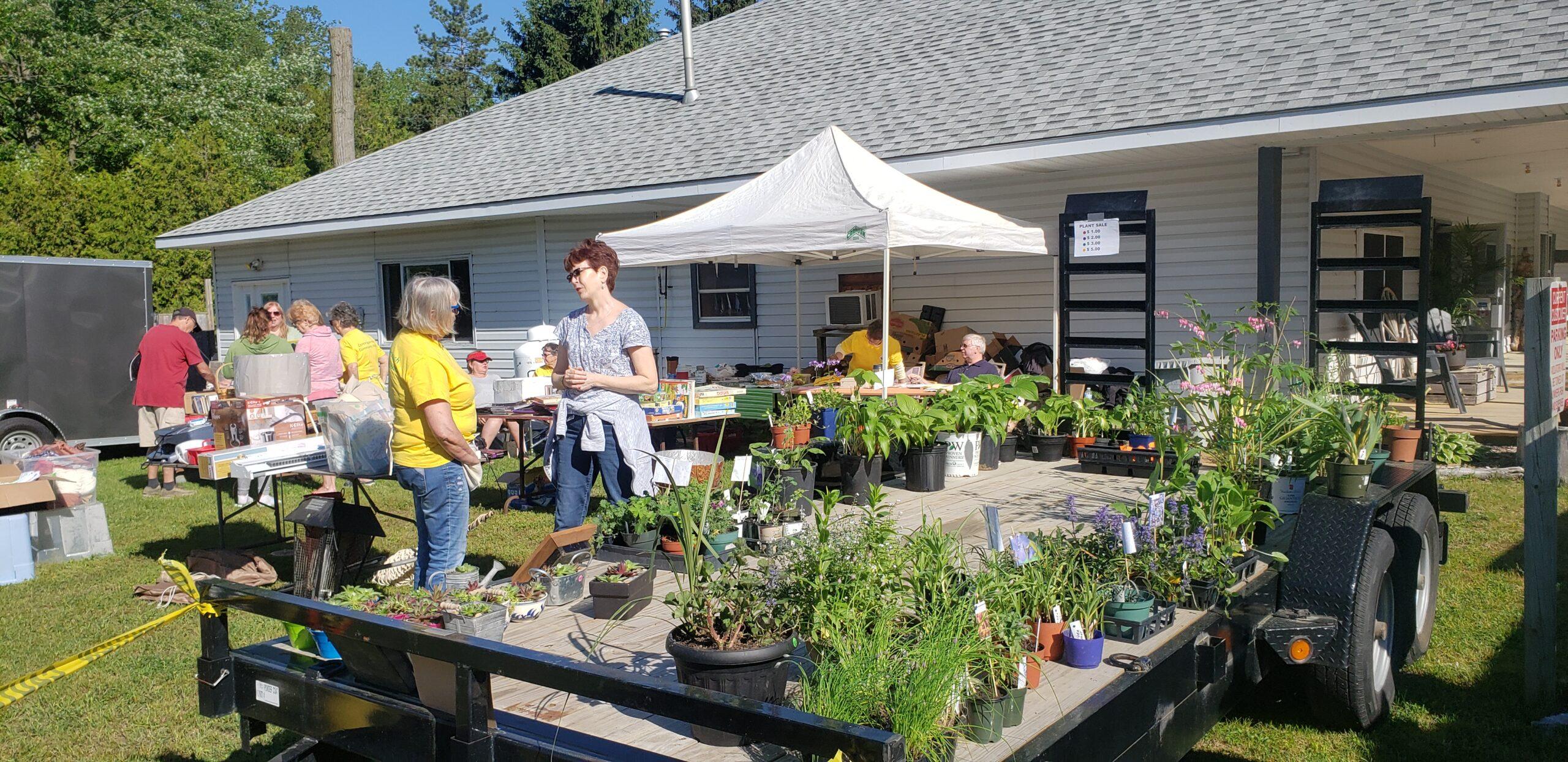 Garage & Plant Sale now open
