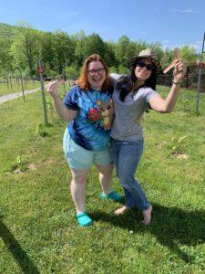 Faith & Katie Adopt a Vine